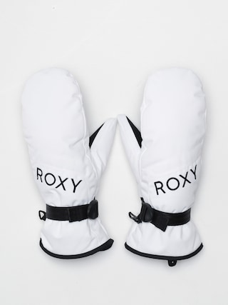 Ru0119kawice Roxy Jetty Solid Mitt Wmn (bright white)