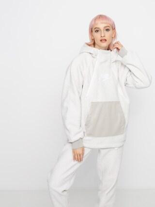 Bluza z kapturem Nike Sherpa HD Wmn (phantom/string/white/white)