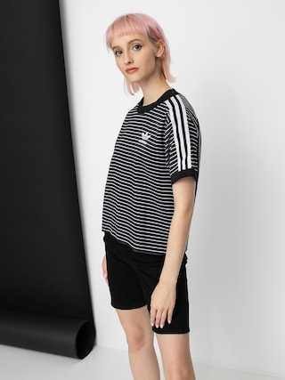 T-shirt adidas Originals 3 Stripes Wmn (black/white)
