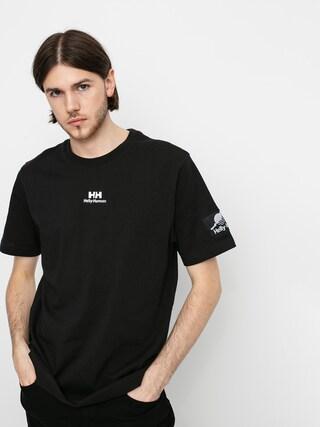 T-shirt Helly Hansen Twin Logo (black)