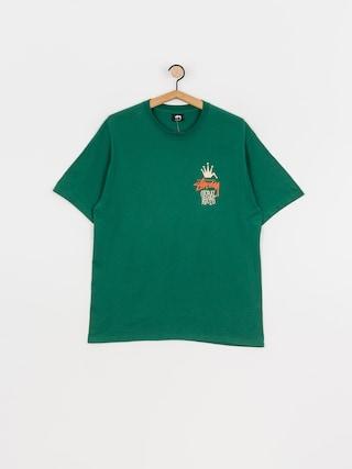 T-shirt Stussy Global Roots (dark green)