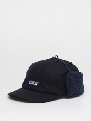 Czapka z daszkiem Patagonia Recycled Wool Ear Flap Cap ZD (classic navy)