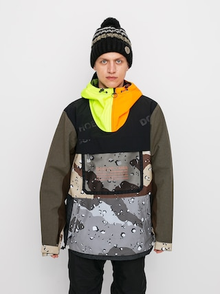 Kurtka snowboardowa DC Asap Anorak Se (repurpose multi camo/opticool)