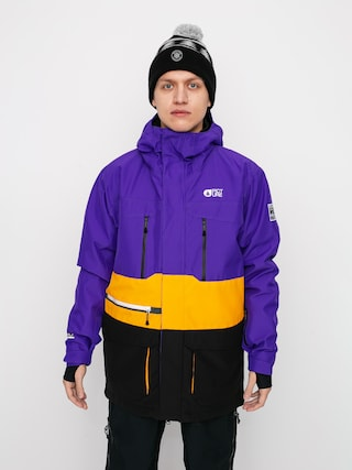 Kurtka snowboardowa Picture Pure (purple yellow)