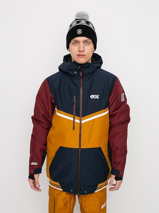 Kurtka snowboardowa Picture Panel (camel dark blue)