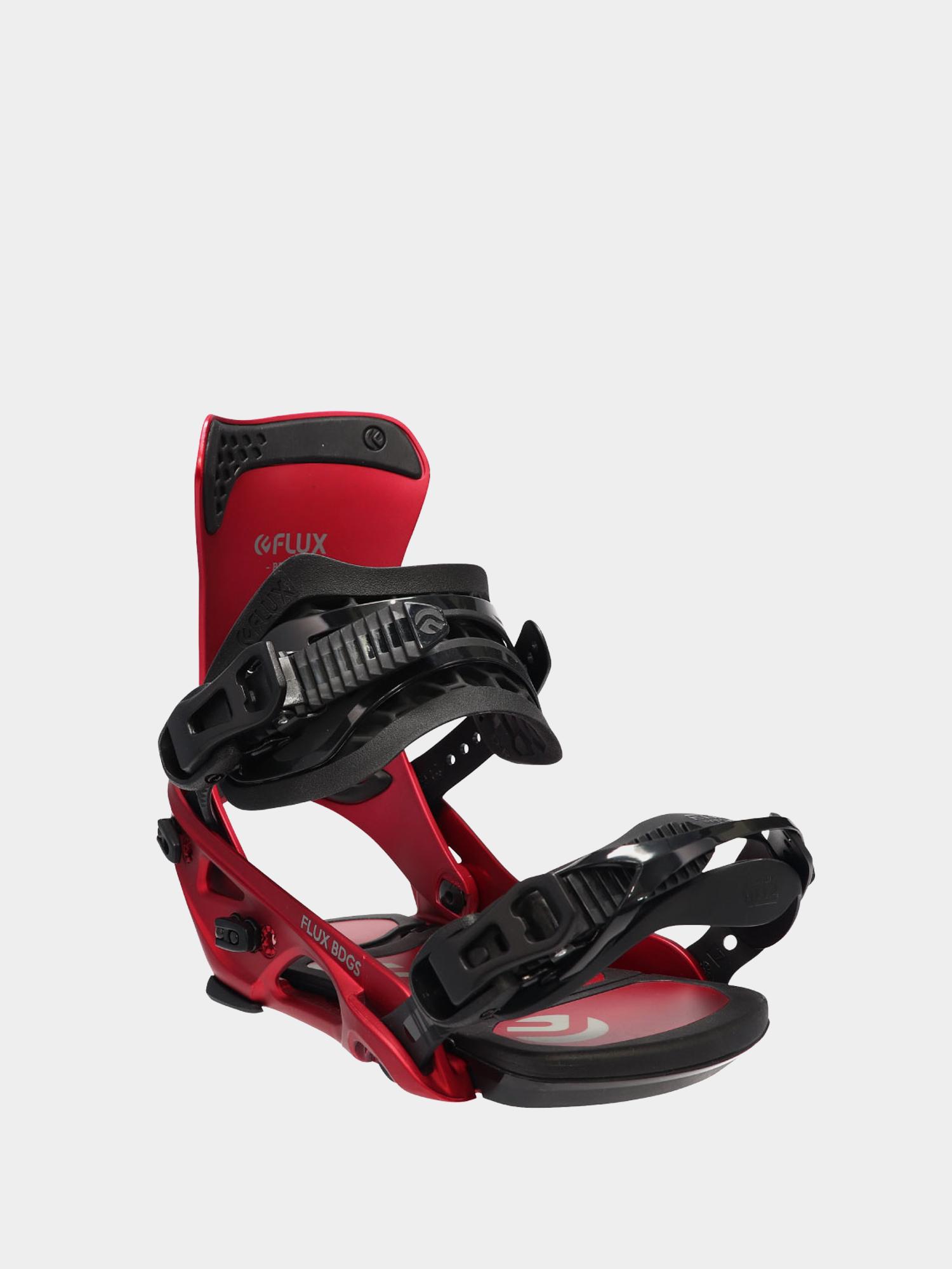 Wiu0105zania snowboardowe Flux DS (metallic red)