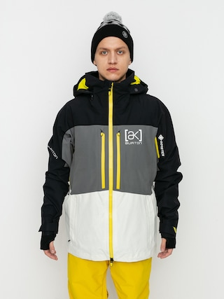 Kurtka snowboardowa Burton Ak Gore Tex Swash (true black/castlerock/white mist)
