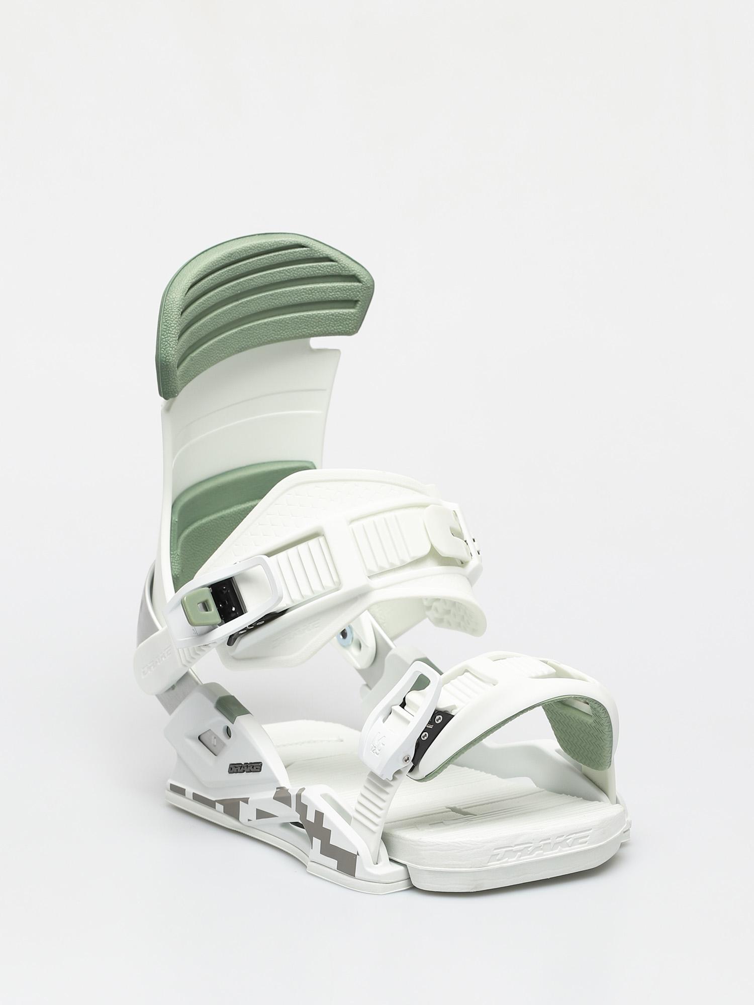 Wiązania snowboardowe Drake Reload (light grey/green)