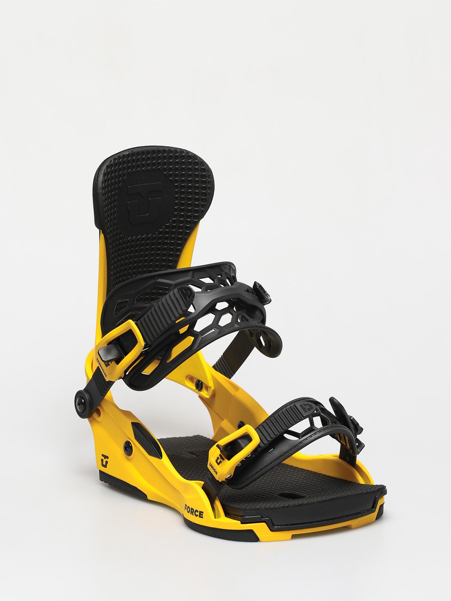 Wiu0105zania snowboardowe Union Force 5 Packs (yellow)