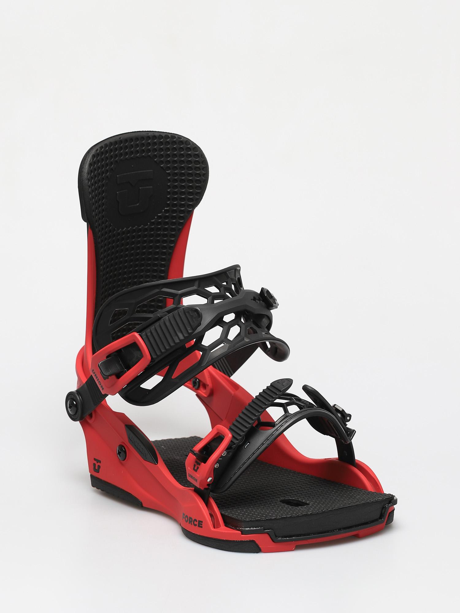 Wiązania snowboardowe Union Force 5 Packs (red)
