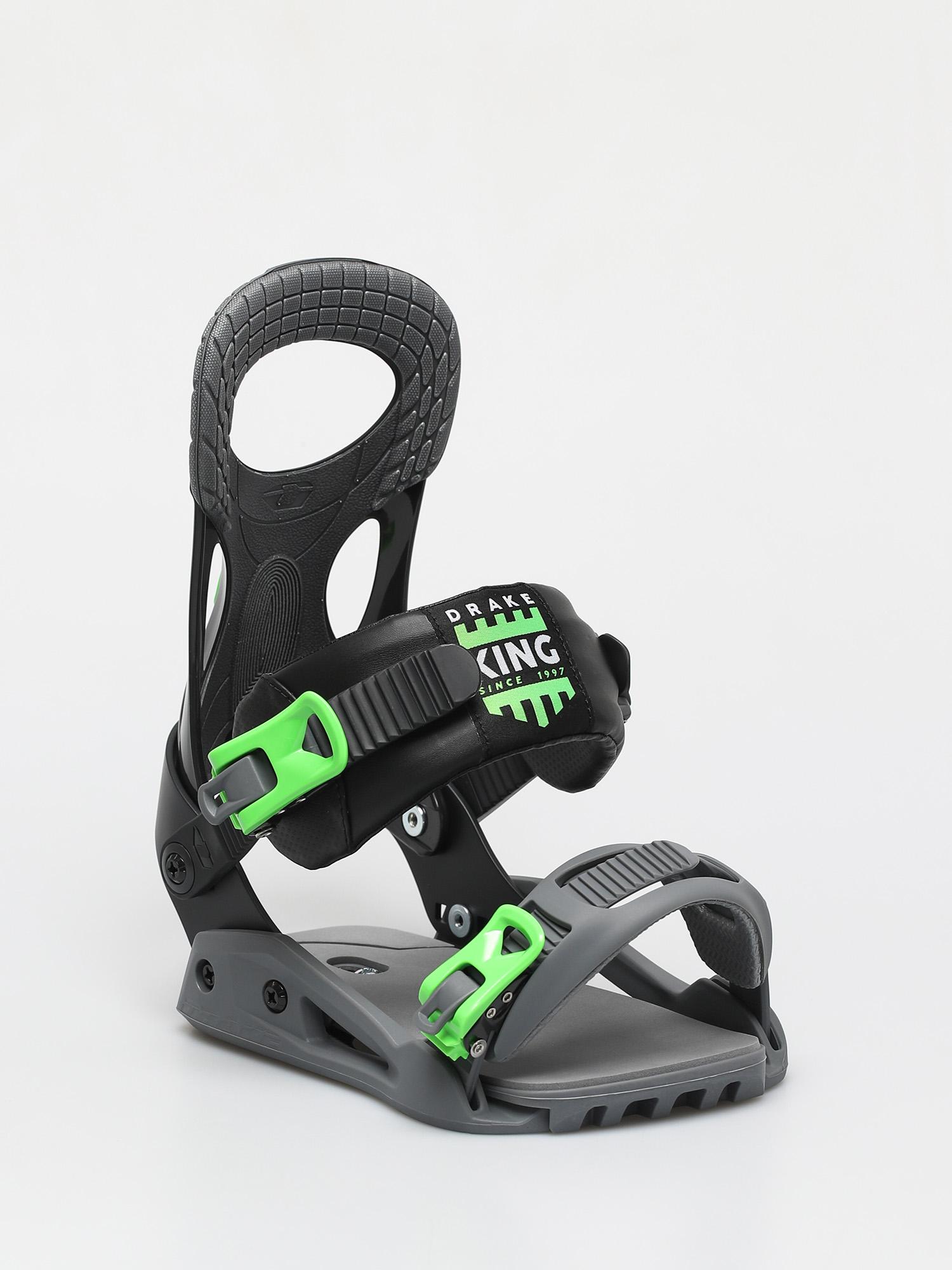 Wiu0105zania snowboardowe Drake King Smu (neon green/black)