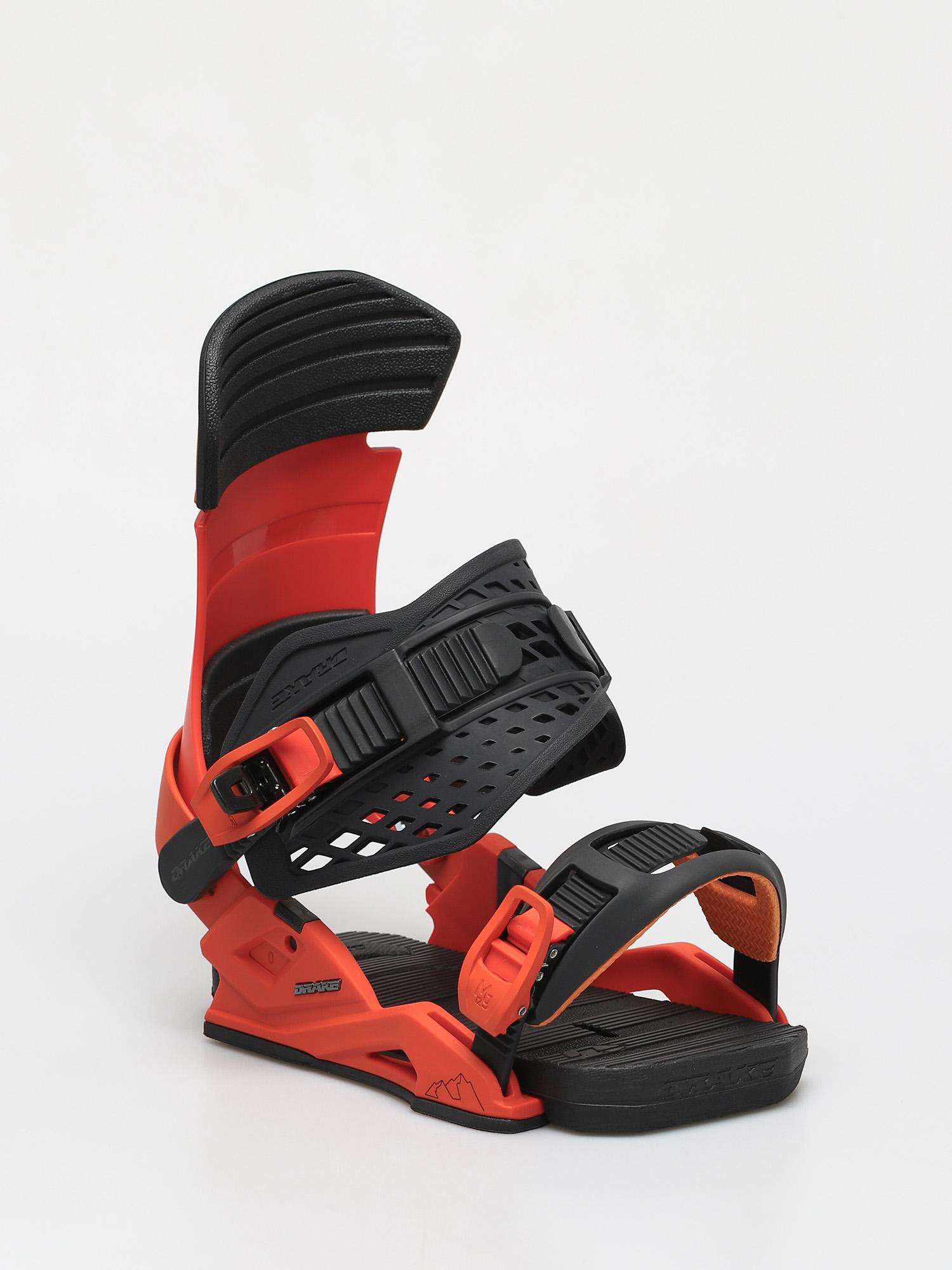 Wiązania snowboardowe Drake Reload Smu (neon orange/black)