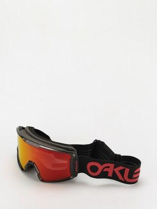 Gogle Oakley Line Miner XL (scotty james sig crystal black/prizm snow torch)