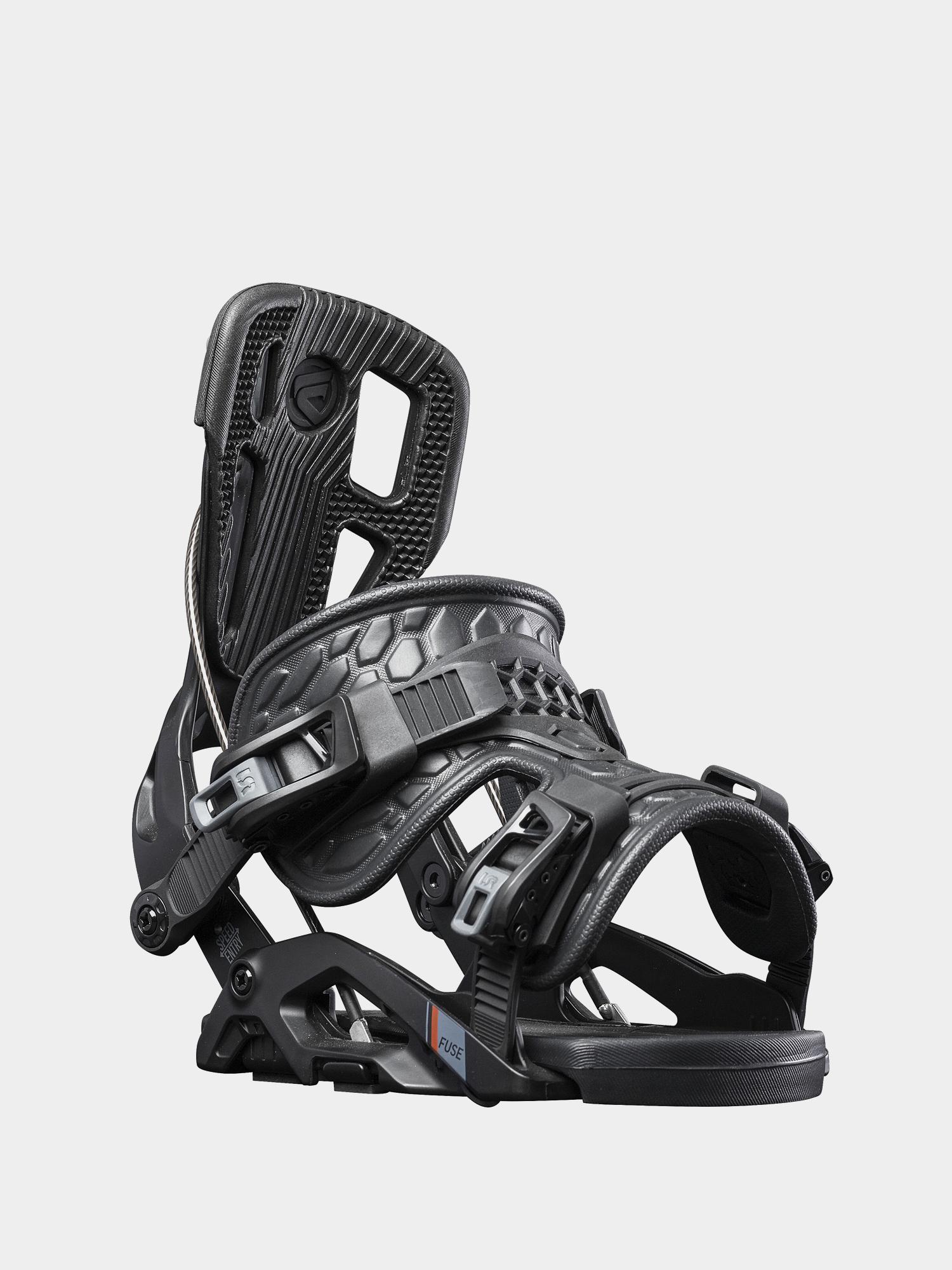 Wiu0105zania snowboardowe Flow Fuse (black)