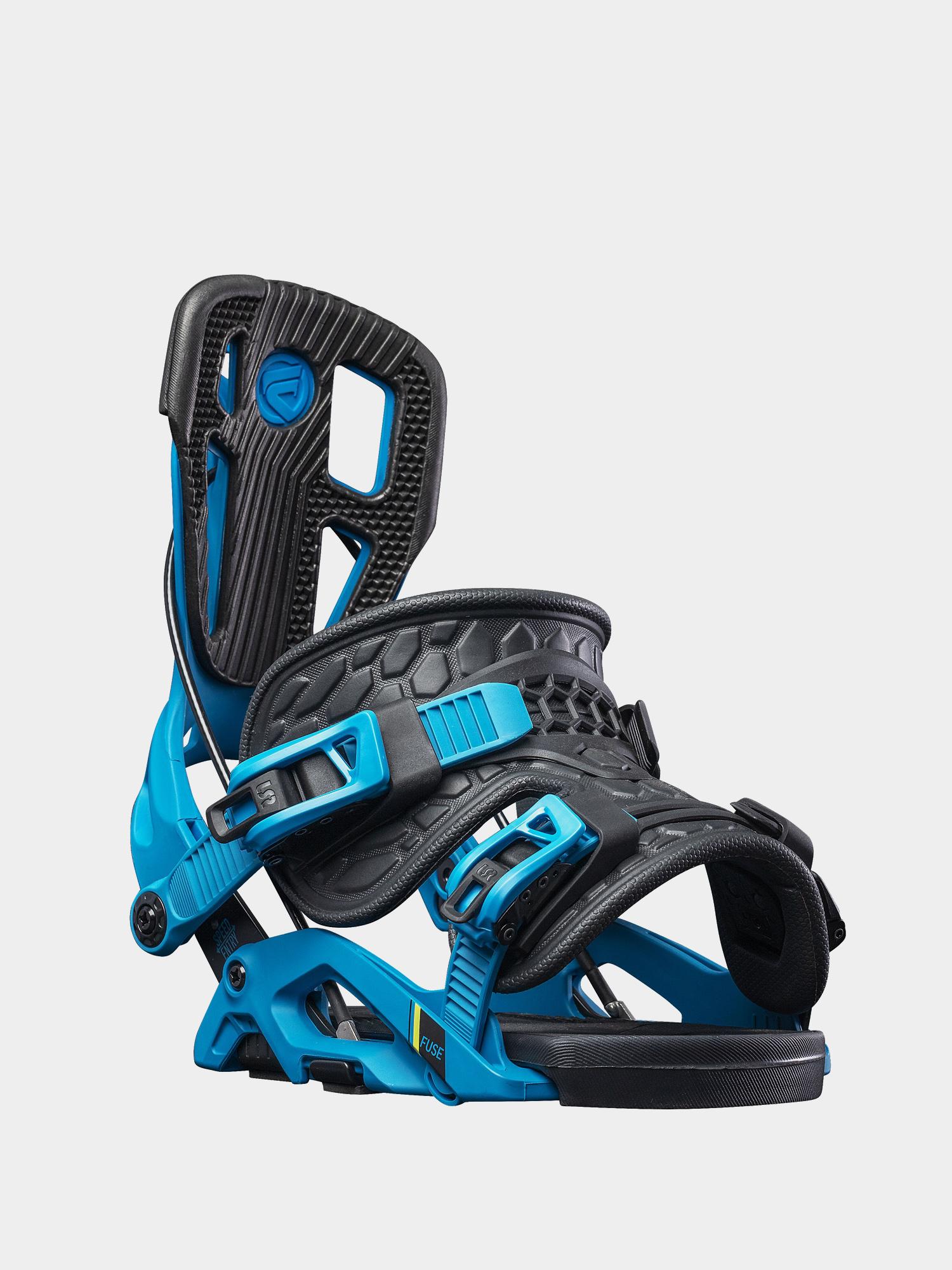 Wiu0105zania snowboardowe Flow Fuse (blue/black)