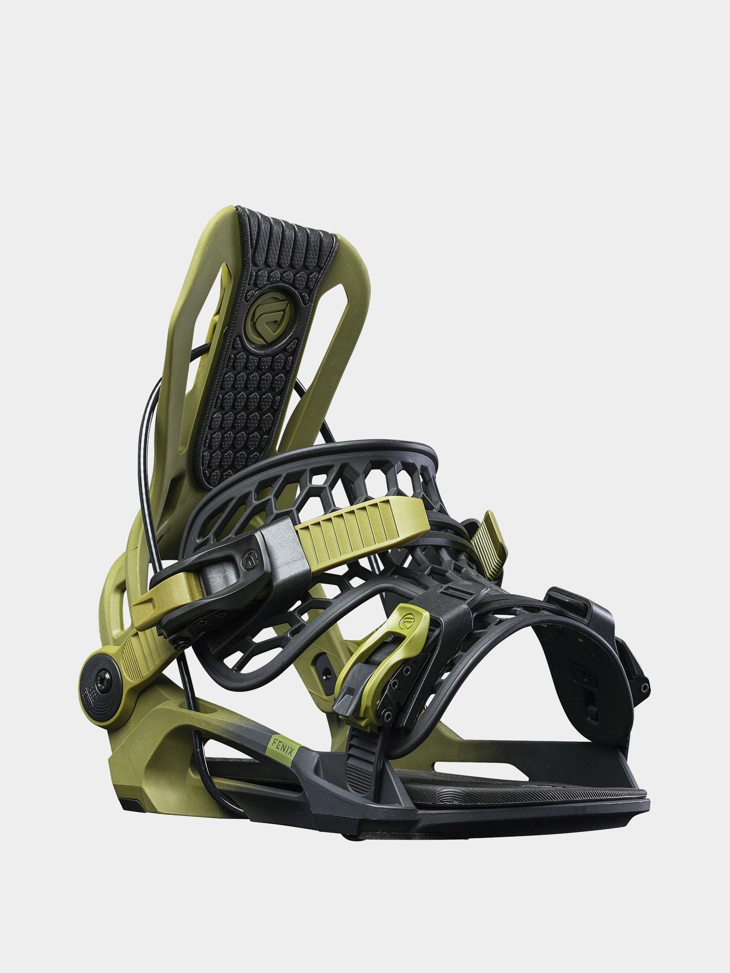 Wiu0105zania snowboardowe Flow Fenix (green)