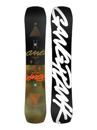 Deska snowboardowa Rome Gang Plank (black/white)