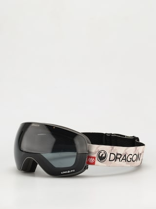 Gogle Dragon X2s (686 camo/ll dark smoke/ll rose)
