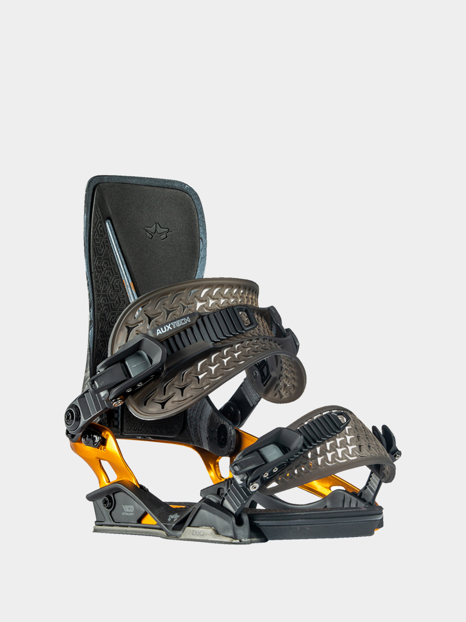 Wiu0105zania snowboardowe Rome Katana (black/orange)