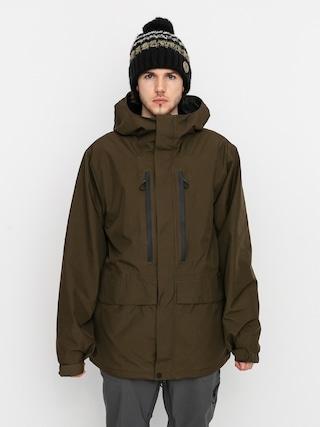 Kurtka snowboardowa Volcom Ten Ins Gore Tex (black military)