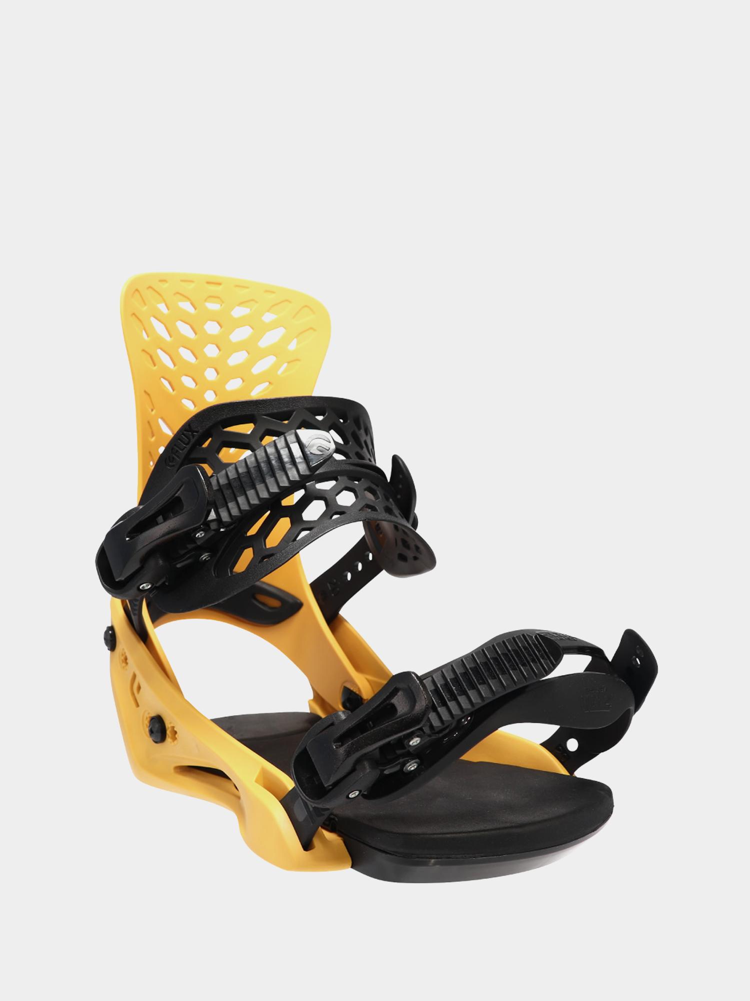 Wiu0105zania snowboardowe Flux PR (yellow)