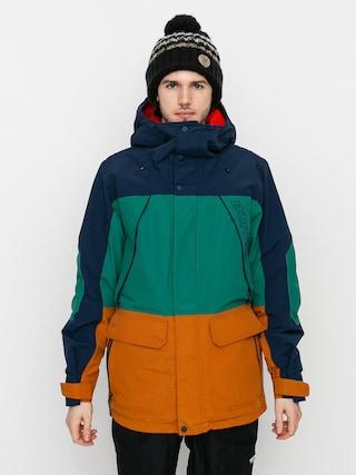 Kurtka snowboardowa Burton Breach Insulated (dress blue/antique green/true penny)