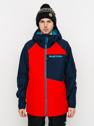 Kurtka snowboardowa Burton Gore Tex Radial Insulated (flame scarlet/dress blue)
