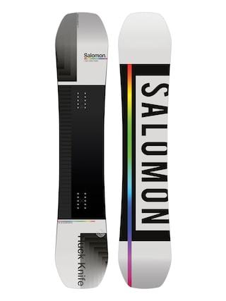 Deska snowboardowa Salomon Huck Knife (grey/black)