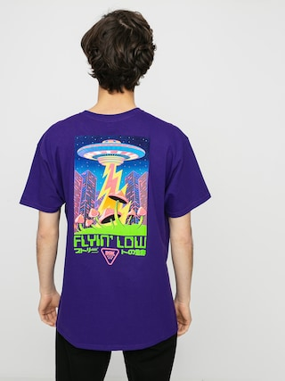 T-shirt DGK Liquid City (purple)