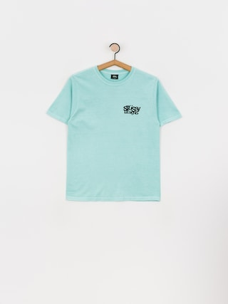 T-shirt Stussy Stussy Designs Pig. Dyed Wmn (aqua)