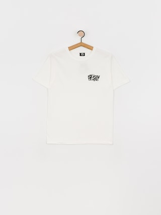 T-shirt Stussy Stussy Designs Pig. Dyed Wmn (natural)