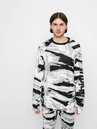 Longsleeve aktywny ThirtyTwo Ridelite Shirt Ls (white/camo)