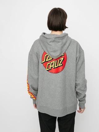 Bluza z kapturem ThirtyTwo Santa Cruz Repel HD (grey/heather)