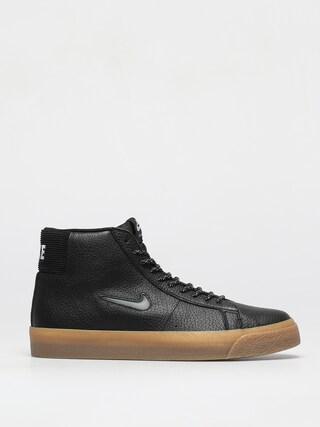 Buty Nike SB Zoom Blazer Mid Premium (black/white black gum light brown)