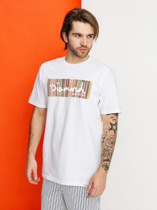 T-shirt Diamond Supply Co. Color Ply Box Logo (white)