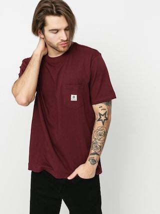 T-shirt Element Basic Pocket Label (vintage red)