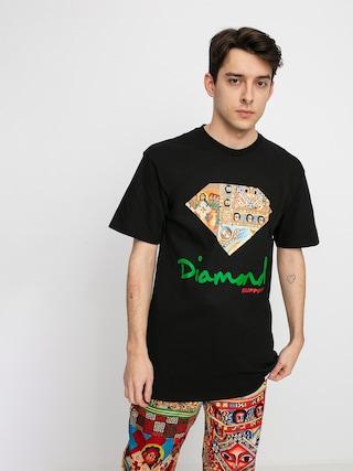 T-shirt Diamond Supply Co. Ethiopian Diamond (black)