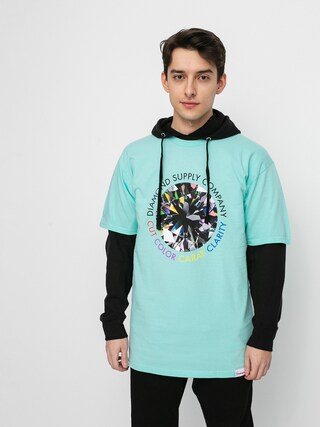 T-shirt Diamond Supply Co. Clarity (diamond blue)