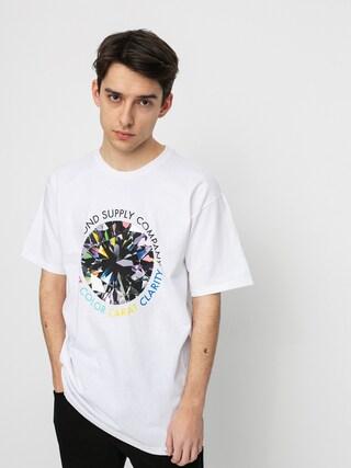 T-shirt Diamond Supply Co. Clarity (white)