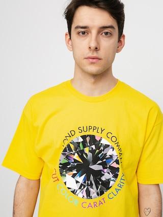 T-shirt Diamond Supply Co. Clarity (yellow)