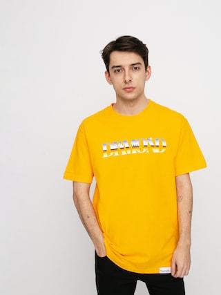 T-shirt Diamond Supply Co. Passage (gold)