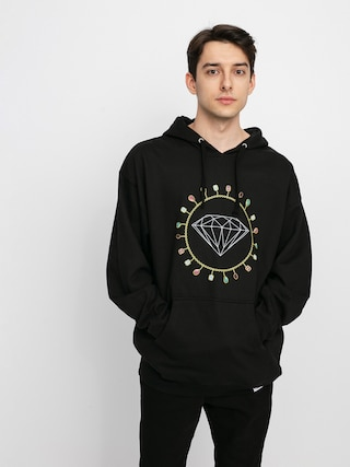 Bluza z kapturem Diamond Supply Co. Diamond Chain HD (black)