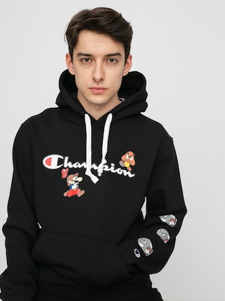 Bluza z kapturem Champion X Nintendo Sweatshirt HD (nbk)