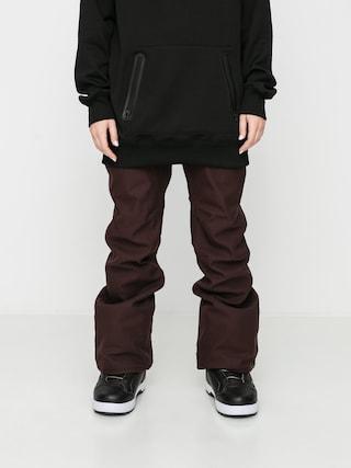 Spodnie snowboardowe Volcom Grail 3D Stretch Wmn (black red)
