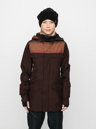 Kurtka snowboardowa Volcom Leda Gore Tex Wmn (black red)