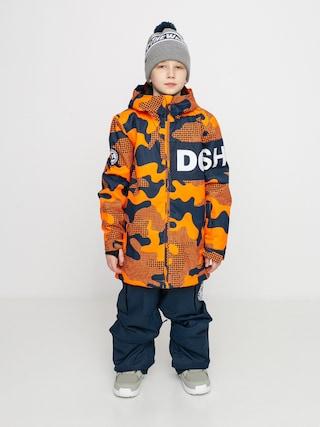 Kurtka snowboardowa DC Propaganda (youth pill camo shocking orang)