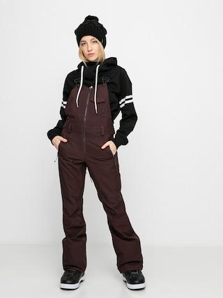 Spodnie snowboardowe Volcom Swift Bib Overall Wmn (black red)