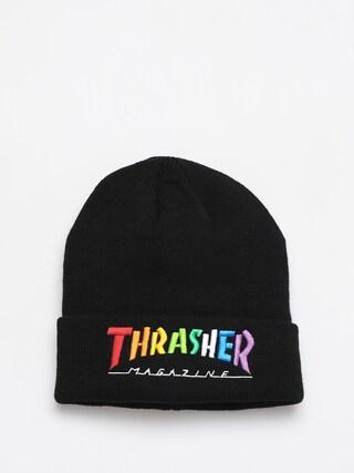 Czapka zimowa Thrasher Rainbow Mag (black)