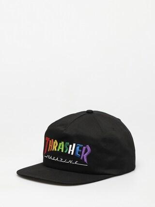 Czapka z daszkiem Thrasher Rainbow Mag Snapback ZD (black)