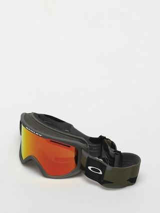 Gogle Oakley O Frame 2 0 Pro XL (dark brush camo/fire iridium & persimmon)